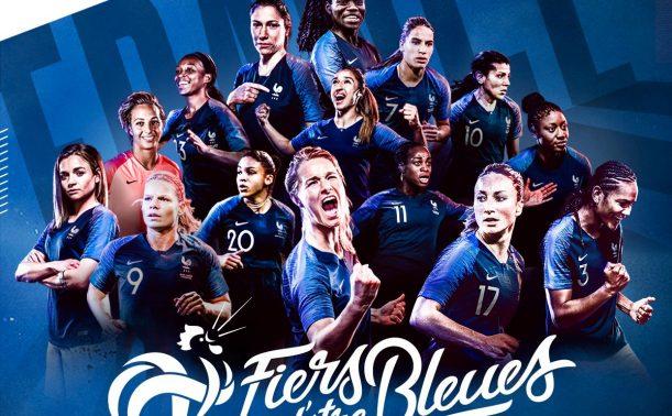 Fiersdetrebleues soutenez l quipe de france f minine - Coupe du monde de football feminin ...